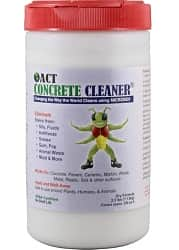 ACT Concrete Cleaner Eco Friendly Removes Oil