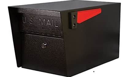 Architectural Mailboxes Oasis Classic High Security Locking Parcel Mailbox