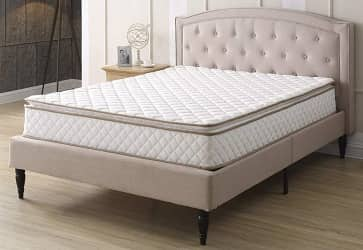 Classic Brands Individually Wrapped Coils Innerspring Pillow Top 10-Inch Mattress