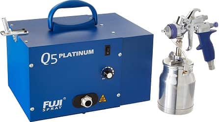Fuji 3005-T70 Q5 Platinum Quiet HVLP Spray System