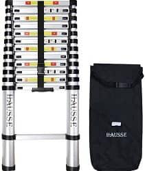 Hausse 12.5 ft Aluminum Telescoping Ladder