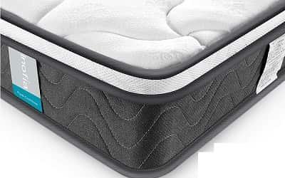 Inofia Sleeping 8 inch Hybrid Comfort Eurotop Innerspring Mattress