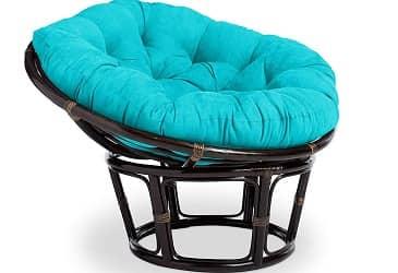 International Caravan Furniture Piece Rattan 42-Inch Papasan Chair