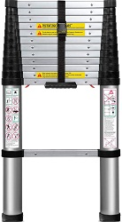 Telescoping Ladder 12.5 FT Extension Telescopic Ladders