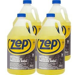 Zep Driveway and Concrete Pressure Wash Cleaner Concentrate