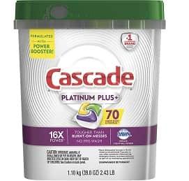 Cascade Platinum Plus Dishwasher Pods