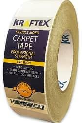 Kraflex - Carpet Tape -Indoor Gripper Tape Double Solid Adhensive