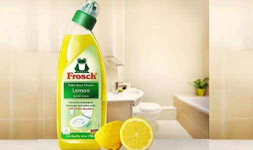 Frosch lemon toilet bowl cleaner