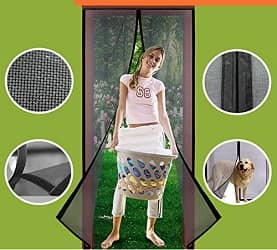 Homearda Magnetic Screen Door
