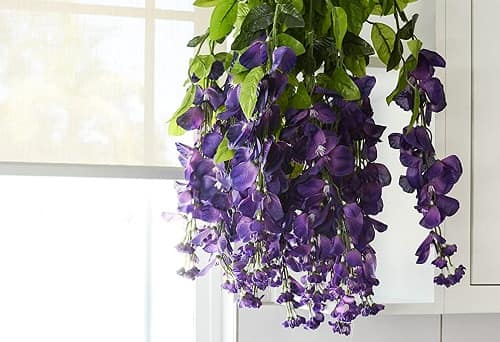 Admired by nature Artificial Wisteria Flowers