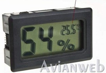 Avianweb AV-1951HT digital hygrometer