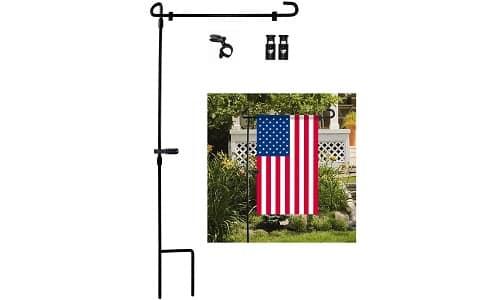 Garden Flag Stand by HOOSUN