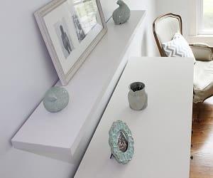 InPlace Shelving Slimline Floating Wall Mountable Shelf