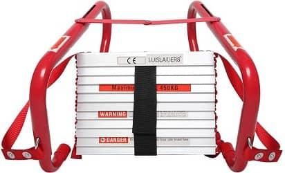 LUISLADDERS Fire Escape Ladder 3 Story