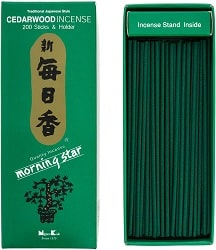 Morning Star Cedarwood Incense Sticks