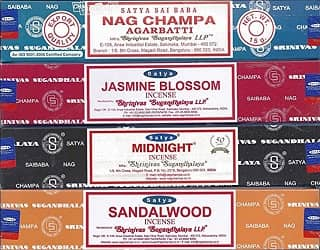 Nag Champa 12 Packs Of Incense Sticks