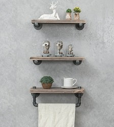 WGX Design for You Industrial Pipe Shelving Shelves