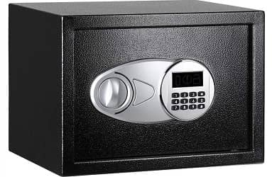 AmazonBasics Steel, Security Safe Lock Box