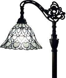 Amora Lighting Tiffany Style Floor Lamp