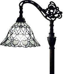 Amora Lighting Tiffany Style Floor Lamp