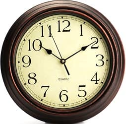Bekith Round Classic Wall Clock