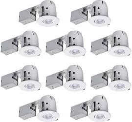 Globe Electric Recessed Lighting Kit