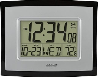 La Crosse Digital Wall Clock