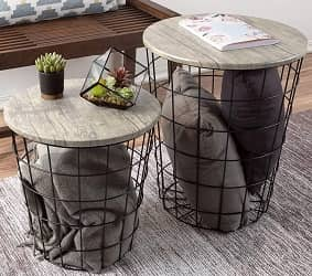 Lavish Home Nesting End Tables