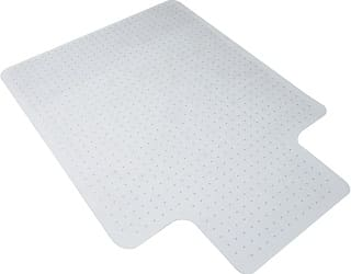 OFM Essentials Collection Transparent Chair Mat