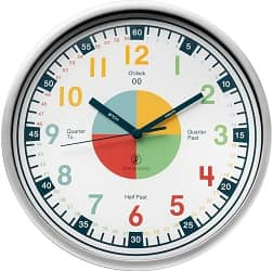 Telling Time Teaching Clock