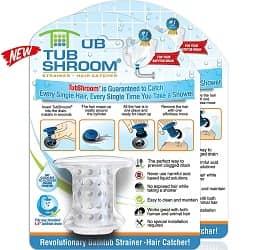 Tub Drain Protector Hair Catcher